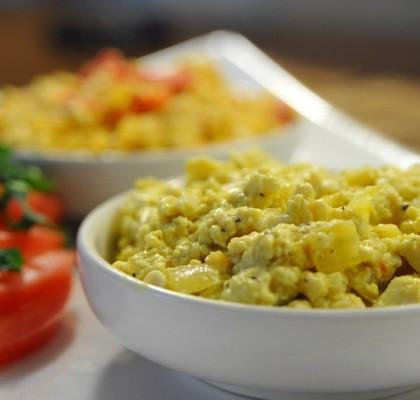 jajecznica bez jajek