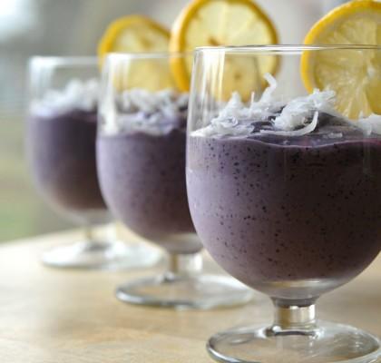 jogurt jagodowy bez mleka