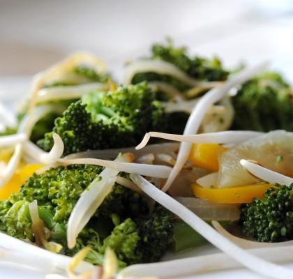 brokuły z kiełkami