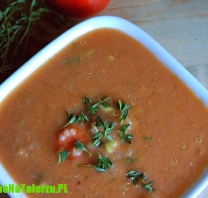 zupa z soczewicy z komosą ryżową