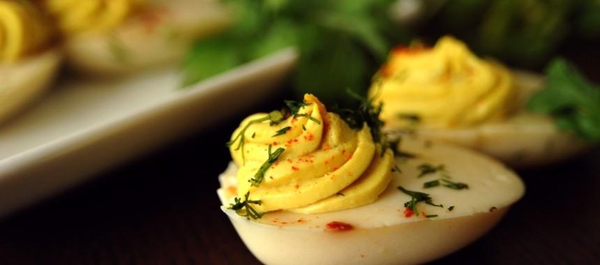 Jajka po wegańsku