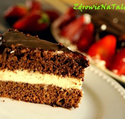 tort czekoladowy wegański