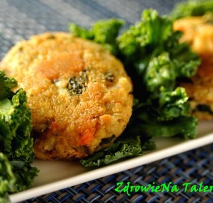 kotlety brokułowo-kalafiorowe