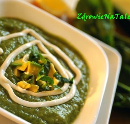 zupa z zieleninką