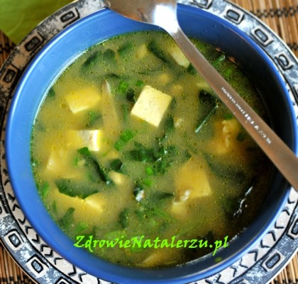 zupa z miso