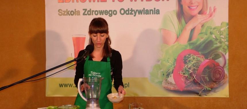 Szkoła Zdrowego gotowania – Warszawa 2014