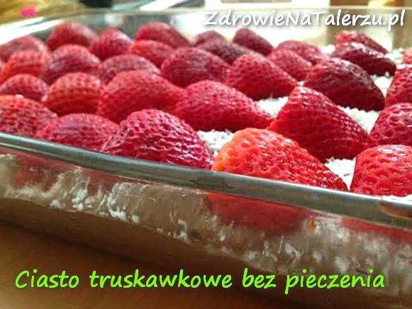 Cisato truskawkowe bez pieczenia