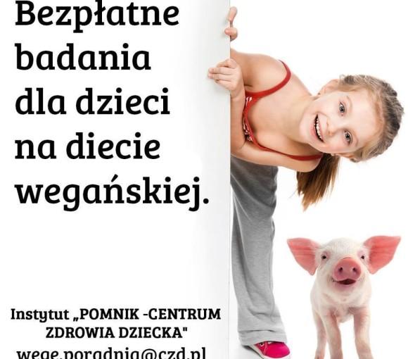 Badanie - dzieci na diecie wegańskiej