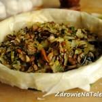 Quiche – z grzybami
