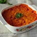 "Makaron z serem ""cheddar"" (Mac and cheese)"