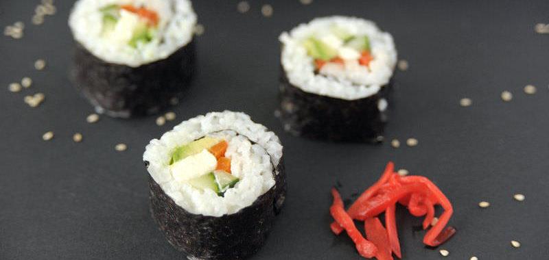 Sushi po wegańsku