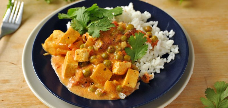 Tofu-curry
