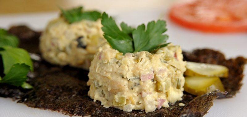 Pasta z cieciorki à la tuńczyk