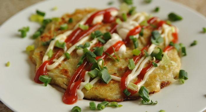 Okonomiyaki – placki po japońsku