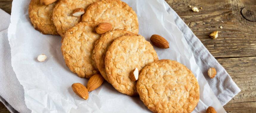 Ciasteczka z orzechami i syropem klonowym